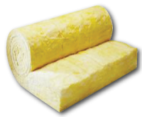 a roll of insulation